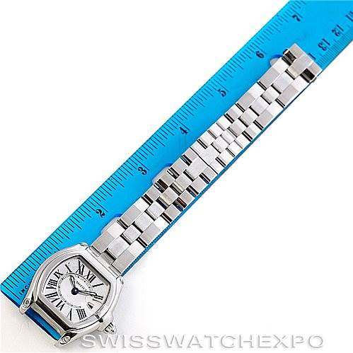 6082 Cartier Roadster Ladies Steel Watch W62016V3 SwissWatchExpo