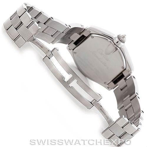 6673 Cartier Roadster Ladies Steel Watch W62016V3 SwissWatchExpo
