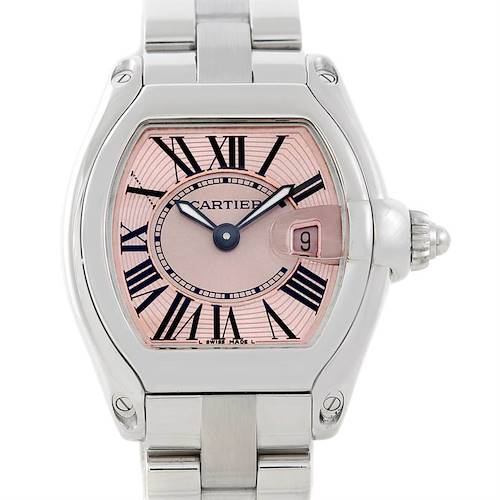 Photo of Cartier Roadster Ladies Pink Dial Watch W62017V3