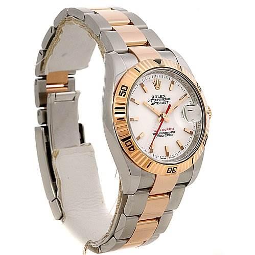 2378 Rolex Turnograph Ss 18k Rose Gold 116261 Year 2005 SwissWatchExpo