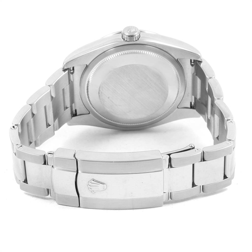 21708 Rolex Datejust Turnograph Steel White Gold Oyster Bracelet Watch 116264 SwissWatchExpo