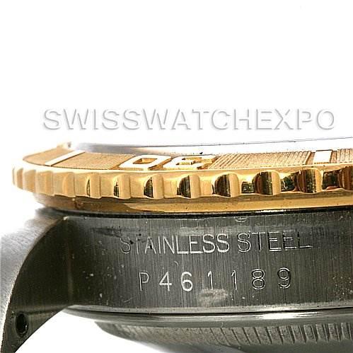 2780 Rolex  Thunderbird Turnograph Mens SS & 18k Gold 16263 SwissWatchExpo