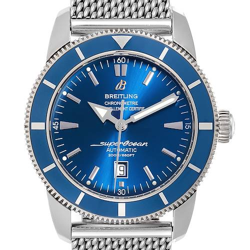 Photo of Breitling Superocean Heritage 46 Mesh Bracelet Watch A17320