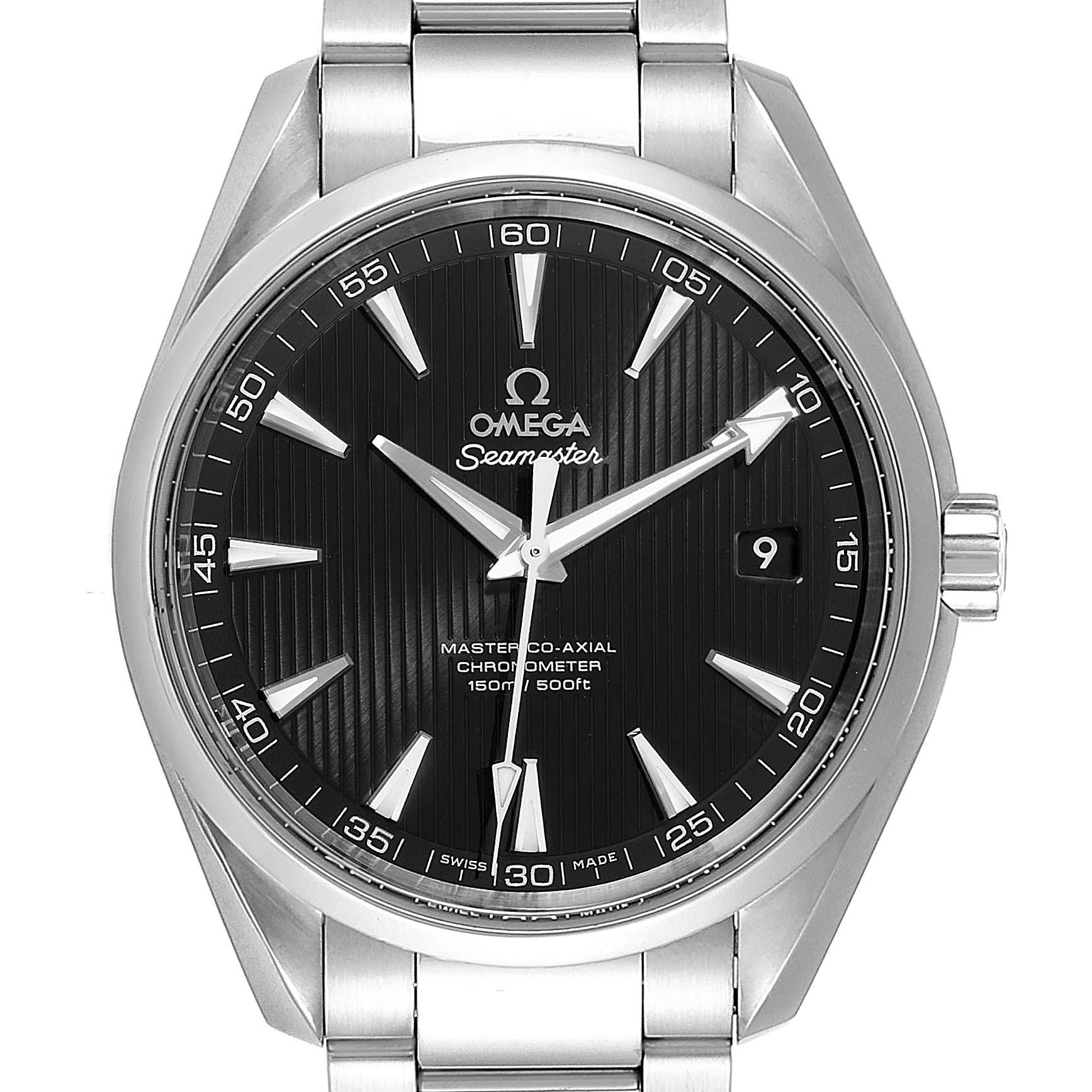 Omega Seamaster Aqua Terra Steel Mens Watch 231.10.42.21.01.003 Box Card SwissWatchExpo