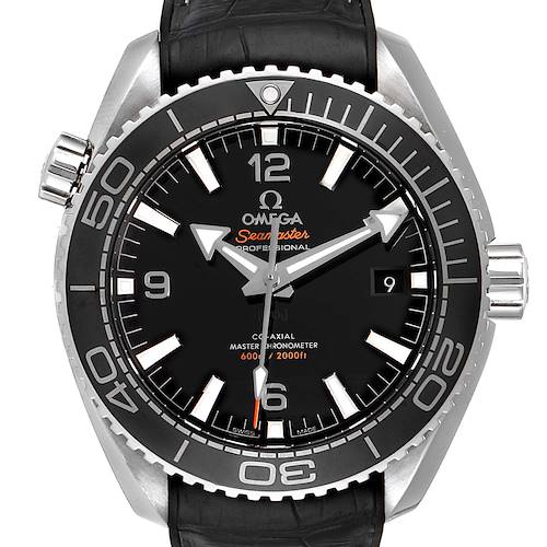 Photo of Omega Seamaster Planet Ocean 600m Mens Watch 215.33.44.21.01.001 Box Card
