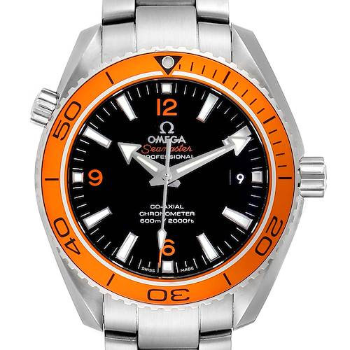 Photo of Omega Seamaster Planet Ocean Orange Bezel Watch 232.30.42.21.01.002