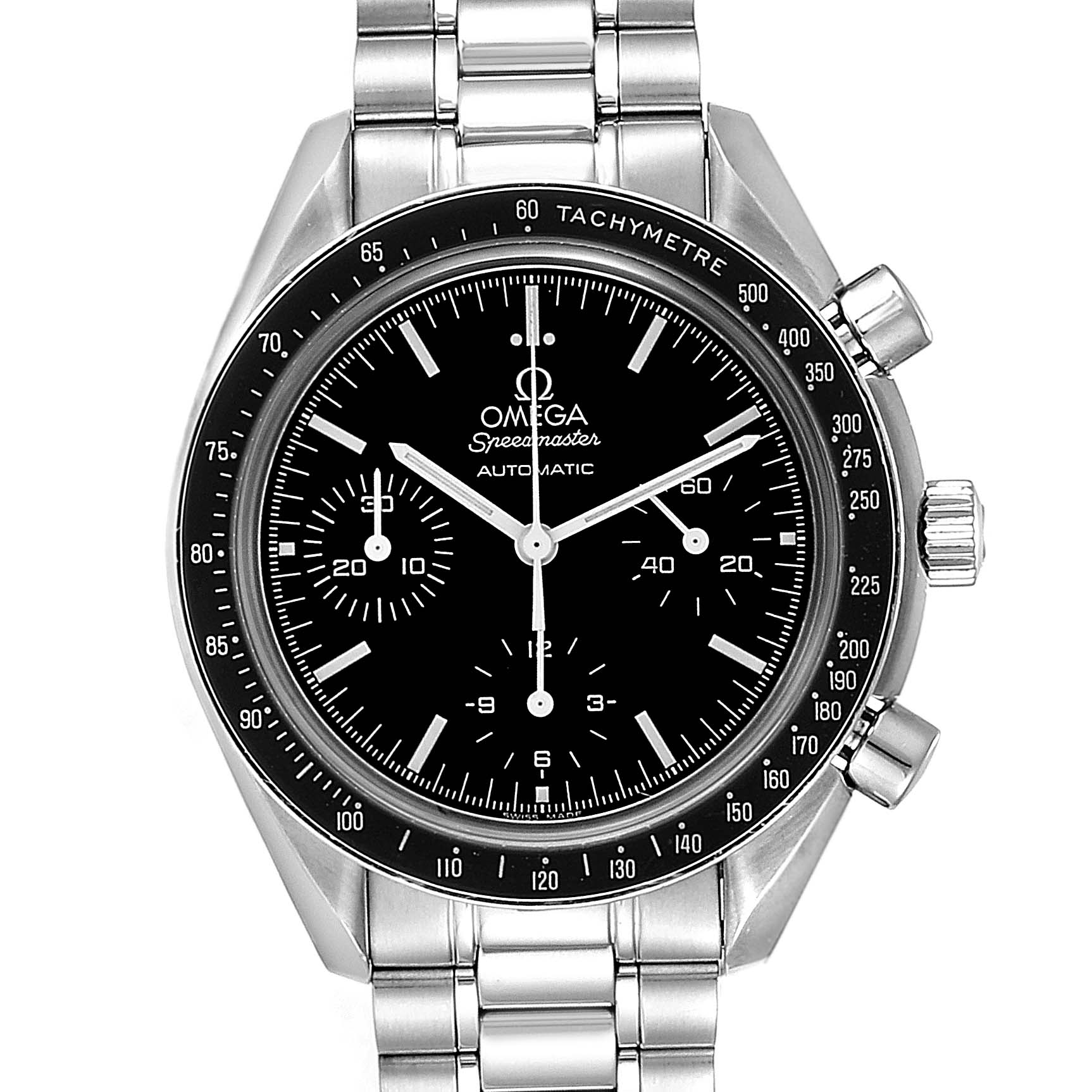 Omega Speedmaster Chrono Reduced Automatic Steel Watch 3539.50.00 Card