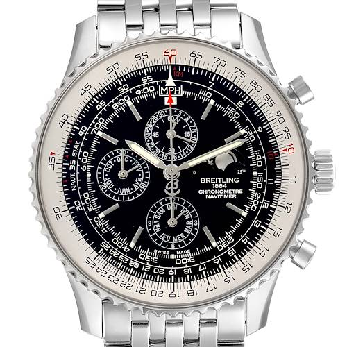 Photo of Breitling Navitimer Monbrillant 1461 Jours Moonphase Mens Watch A19380