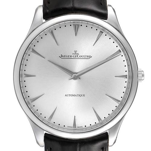 Photo of Jaeger Lecoultre Master Ultra Thin Mens Watch 170.8.37 Q1338421 Box Papers