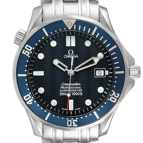 Photo of Omega Seamaster 300M Blue Dial Steel Mens Watch 2531.80.00