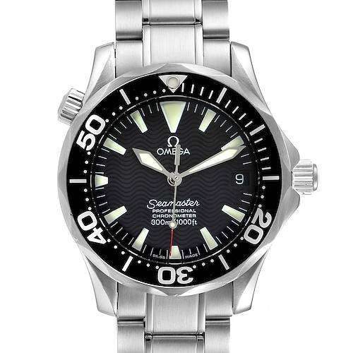 Photo of Omega Seamaster 36mm Midsize Black Wave Dial Steel Watch 2252.50.00
