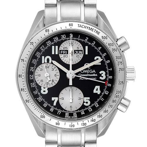 Photo of Omega Speedmaster Triple Calendar Black Arabic Dial Mens Watch 3523.51.00