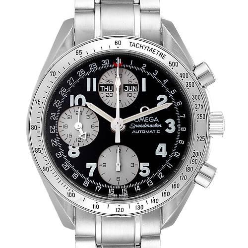 Photo of Omega Speedmaster Tripple Calendar Black Arabic Dial Watch 3523.51.00
