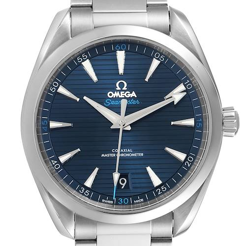 Photo of Omega Seamaster Aqua Terra Blue Dial Watch 220.10.41.21.03.001