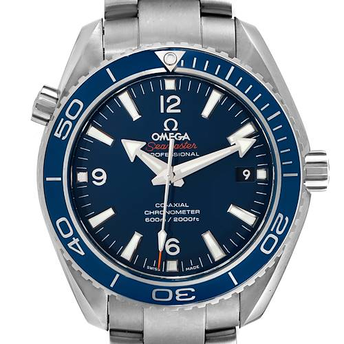 Photo of Omega Seamaster Planet Ocean 42mm Watch 232.90.42.21.03.001 Box Card