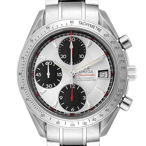 Photo of Omega Speedmaster Date Panda Dial Cronograph Mens Watch 3211.31.00