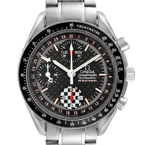 Photo of Omega Speedmaster Racing Limited Edition Steel Mens Watch 3529.50.00