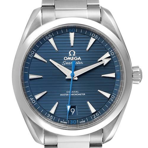 Photo of Omega Seamaster Aqua Terra Co-Axial Watch 220.10.41.21.03.002 Box Card