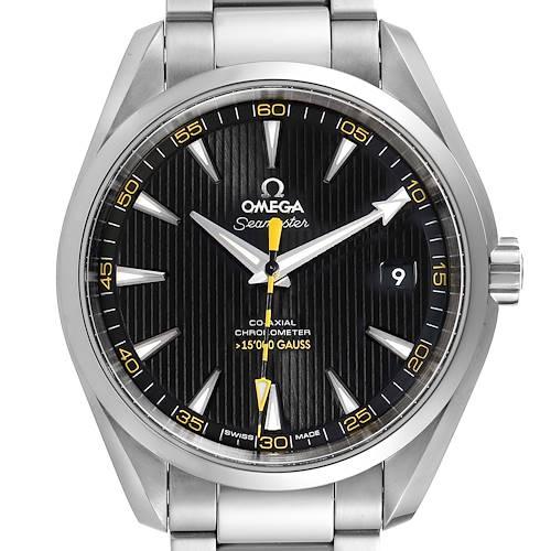 Photo of Omega Seamaster Aqua Terra Co-Axial Watch 231.10.42.21.01.002 Box Card
