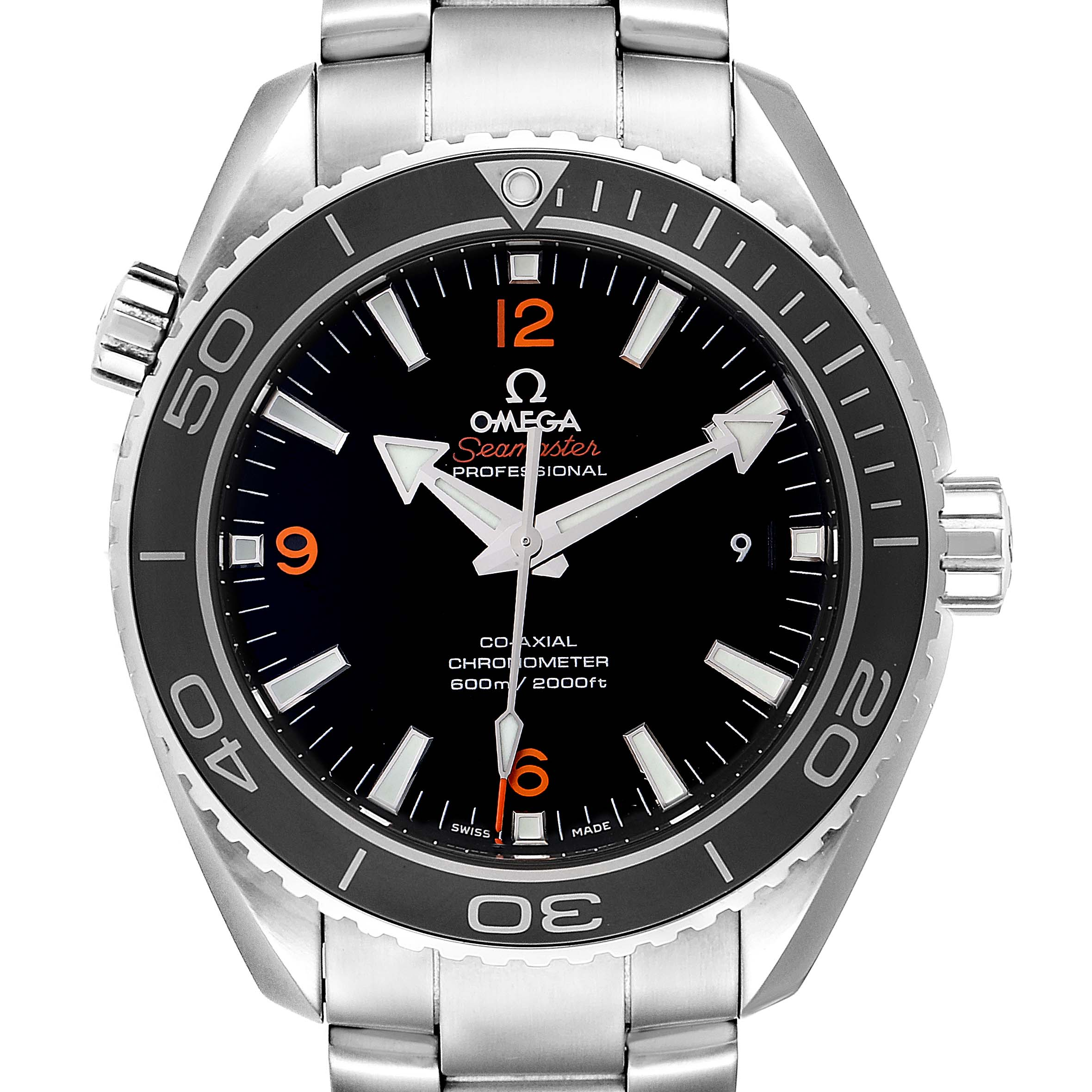 Omega Seamaster Planet Ocean 600M Watch 232.30.46.21.01.003 Box Card