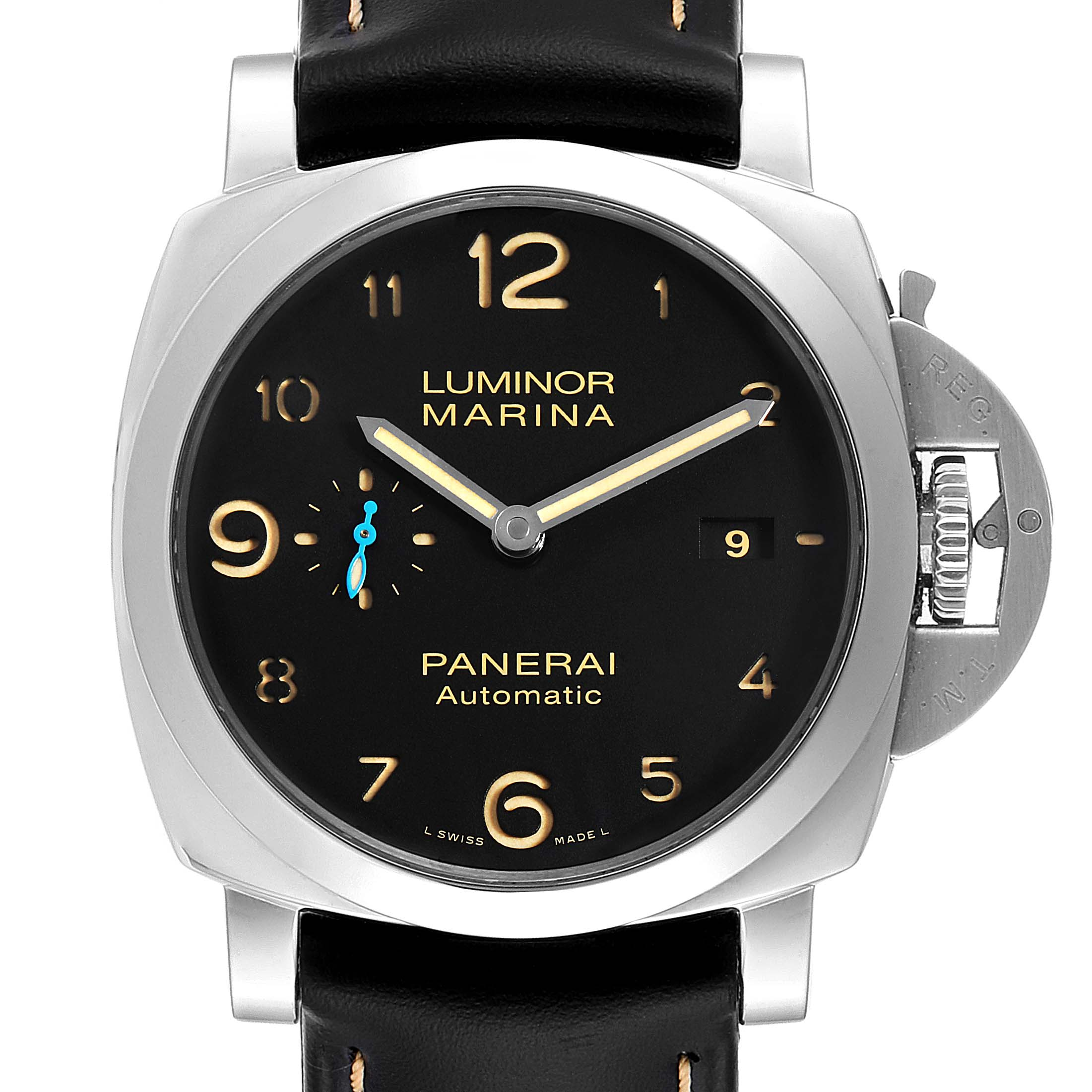 Panerai Luminor 1950 Marina Mens 44mm Watch PAM01359 Box Papers