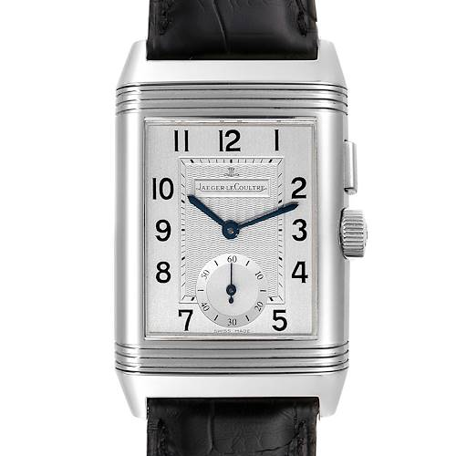 Photo of Jaeger LeCoultre Reverso Duo Day Night Watch 271.84.10 Q2718410 Box Papers
