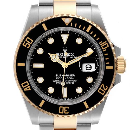 Photo of NOT FOR SALE Rolex Submariner 41 Steel Yellow Gold Black Dial Mens Watch 126613 Unworn PARTIAL PAYMENT