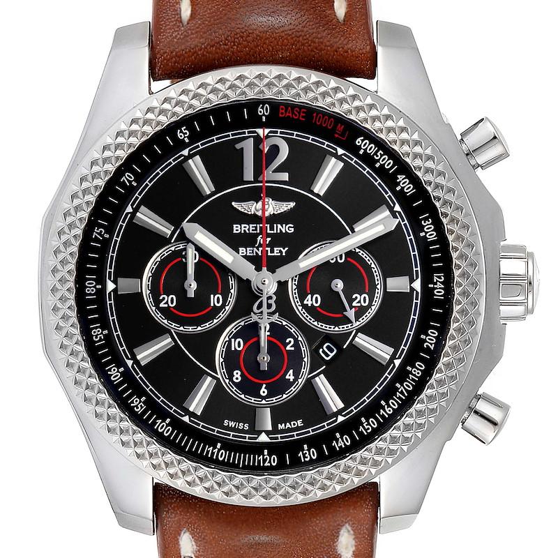 Breitling Bentley Barnato 42 Chronograph Black Dial Mens Watch A41390 SwissWatchExpo