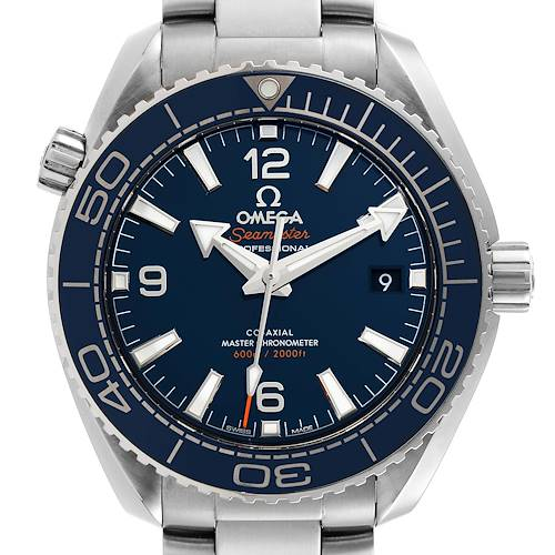 Photo of Omega Planet Ocean 39.5mm Steel Mens Watch 215.30.40.20.03.001 Box Card