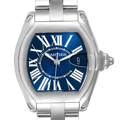Photo of Cartier Roadster XL 100th Anniversary Blue Dial Mens Watch W6206012