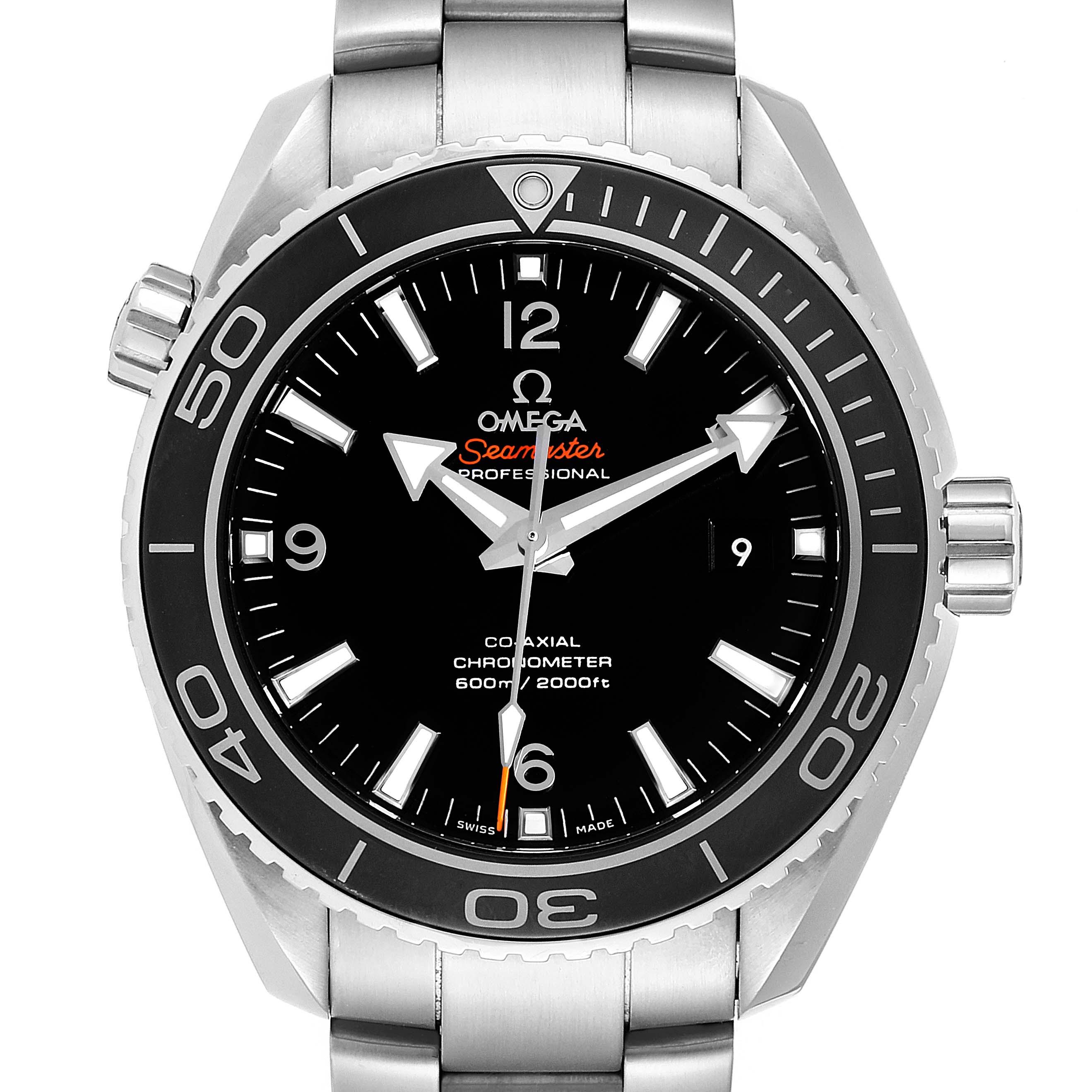 Omega Seamaster Planet Ocean 600M Steel Mens Watch 232.30.46.21.01.001