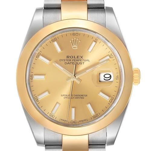 Photo of Rolex Datejust 41 Steel Yellow Gold Mens Watch 126303 Unworn