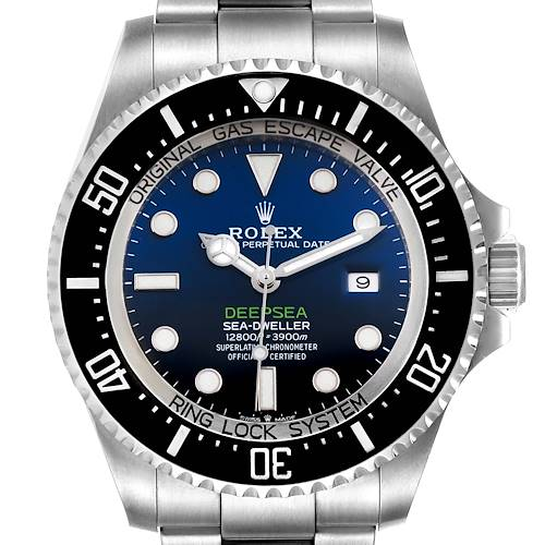 Photo of Rolex Seadweller Deepsea 44 Cameron D-Blue Dial Mens Watch 126660 Box Card