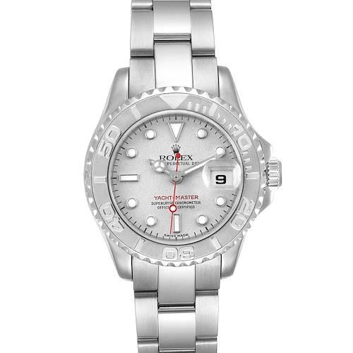 Photo of Rolex Yachtmaster 29 Steel Platinum Ladies Watch 169622