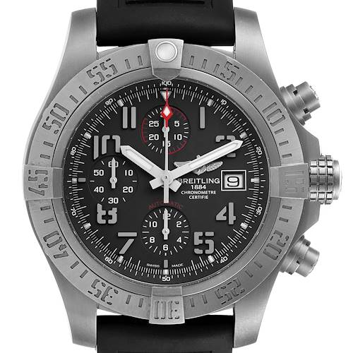 Photo of Breitling Avenger Bandit Grey Dial Titanium Mens Watch E13383 Box Papers