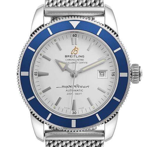 Photo of Breitling Superocean Heritage 42 Steel Mens Watch A17321 Box Papers