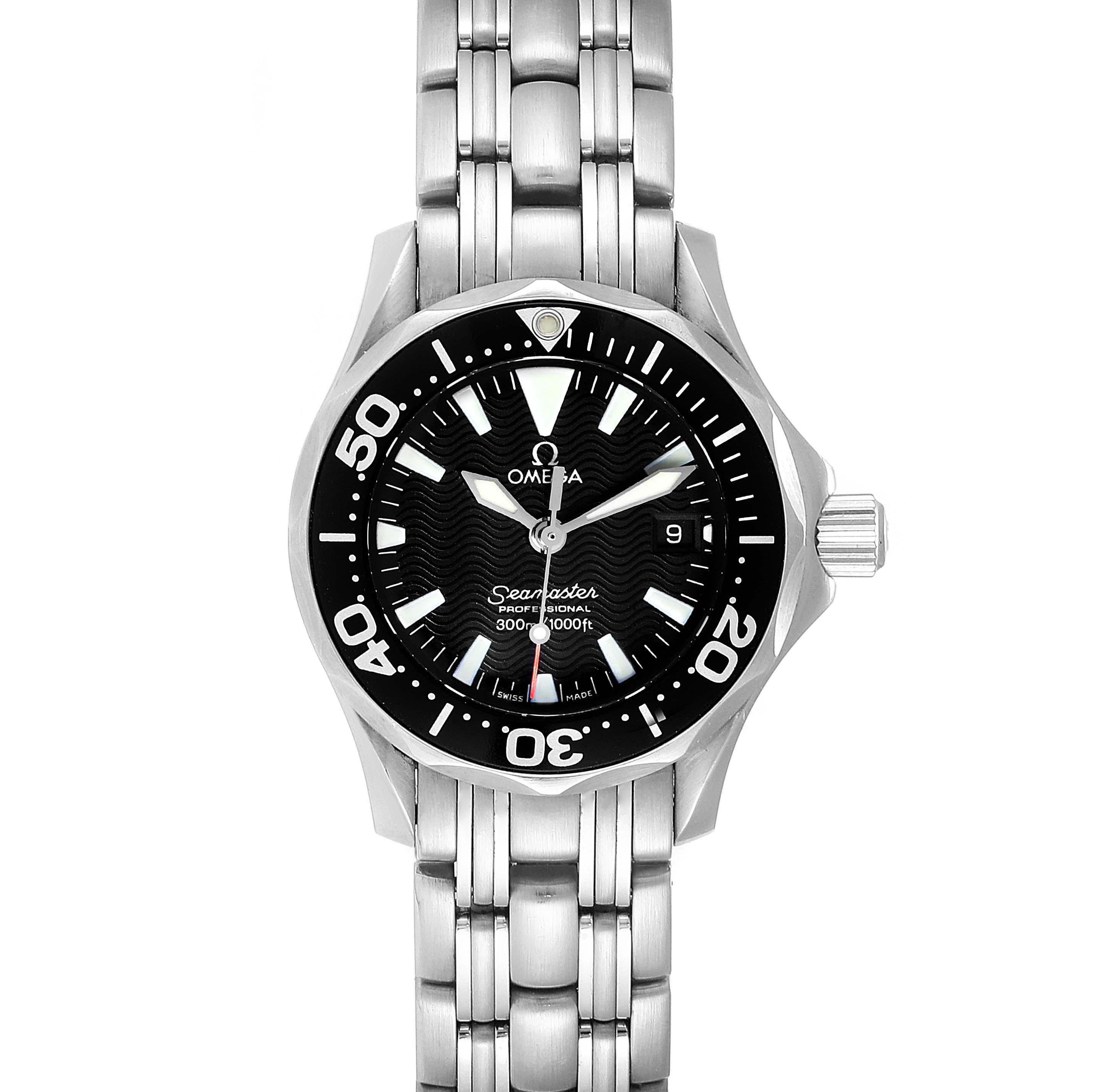 Photo of Omega Seamaster Diver 300M Quartz 28mm Steel Ladies Watch 2284.50.00