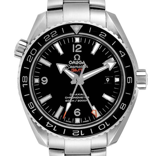 Photo of Omega Seamaster Planet Ocean GMT Watch 232.30.44.22.01.001 Box Card