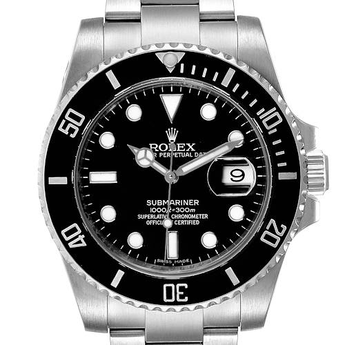 Photo of NOT FOR SALE Rolex Submariner Black Dial Ceramic Bezel Steel Mens Watch 116610 Box Card PARTIAL PAYMENT