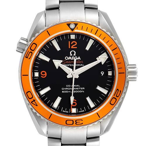 Photo of Omega Seamaster Planet Ocean Orange Bezel Watch 232.30.42.21.01.002