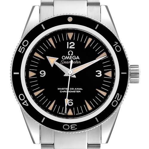 Photo of Omega Seamaster 300 Master Co-Axial Steel Mens Watch 233.30.41.21.01.001