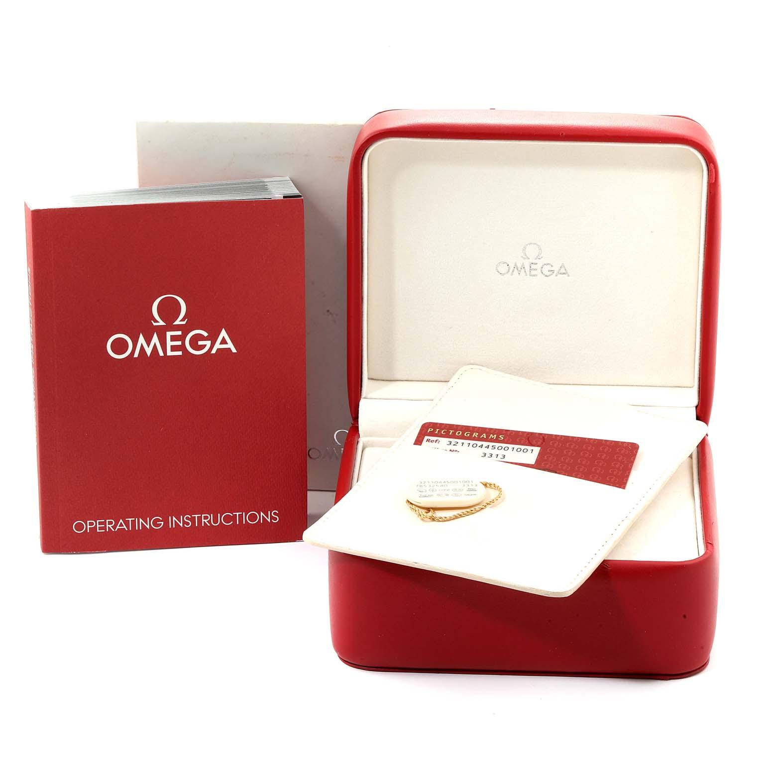 Omega Speedmaster Broad Arrow Black Dial 321.10.44.50.01.001 Box Card SwissWatchExpo