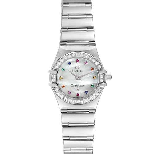Photo of Omega Constellation Iris Steel Multi Stone Ladies Watch 1460.79.00