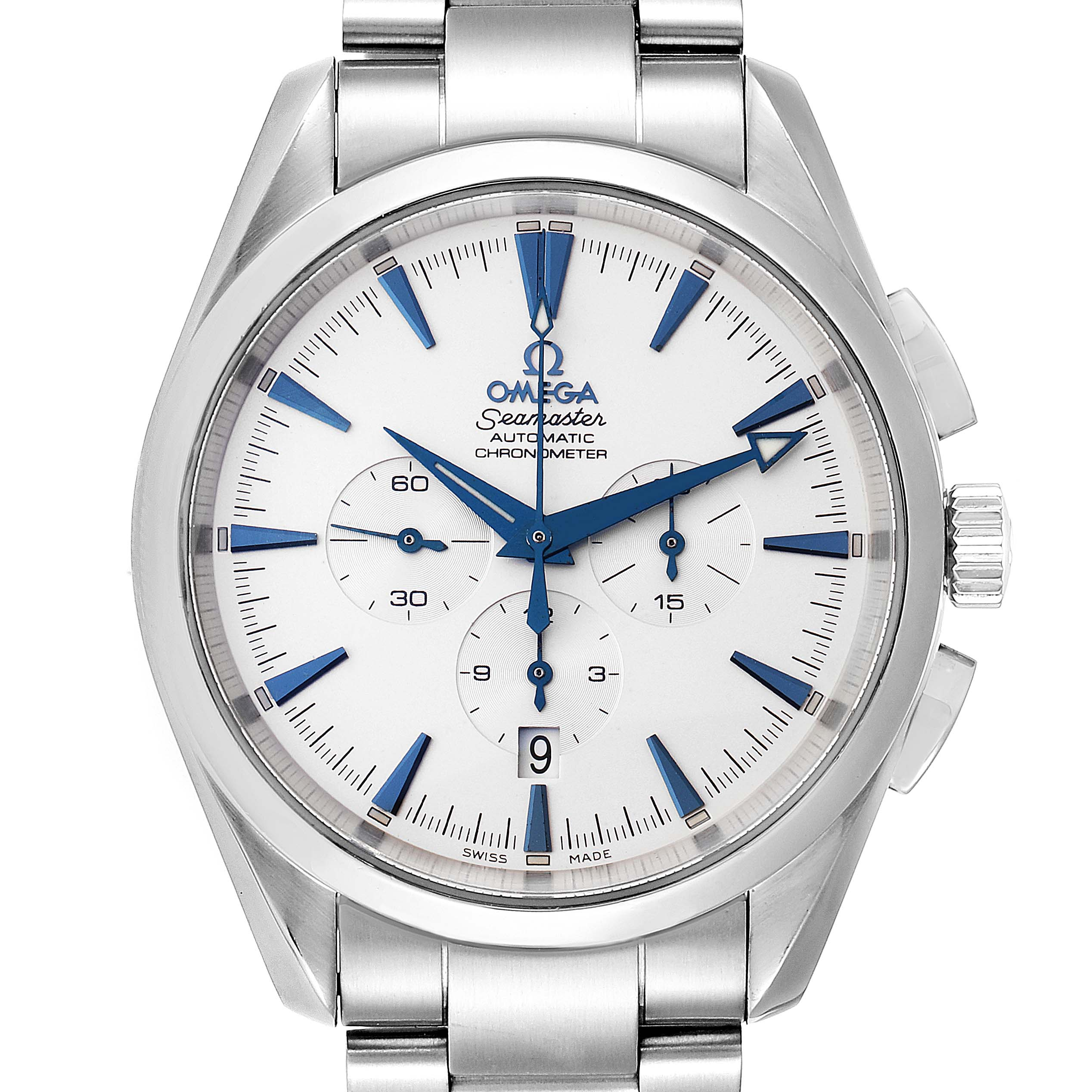 Omega Seamaster Aqua Terra XL Chronograph Watch 2512.30.00 Card
