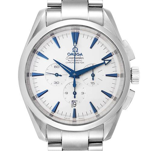 Photo of Omega Seamaster Aqua Terra XL Chronograph Watch 2512.30.00 Card