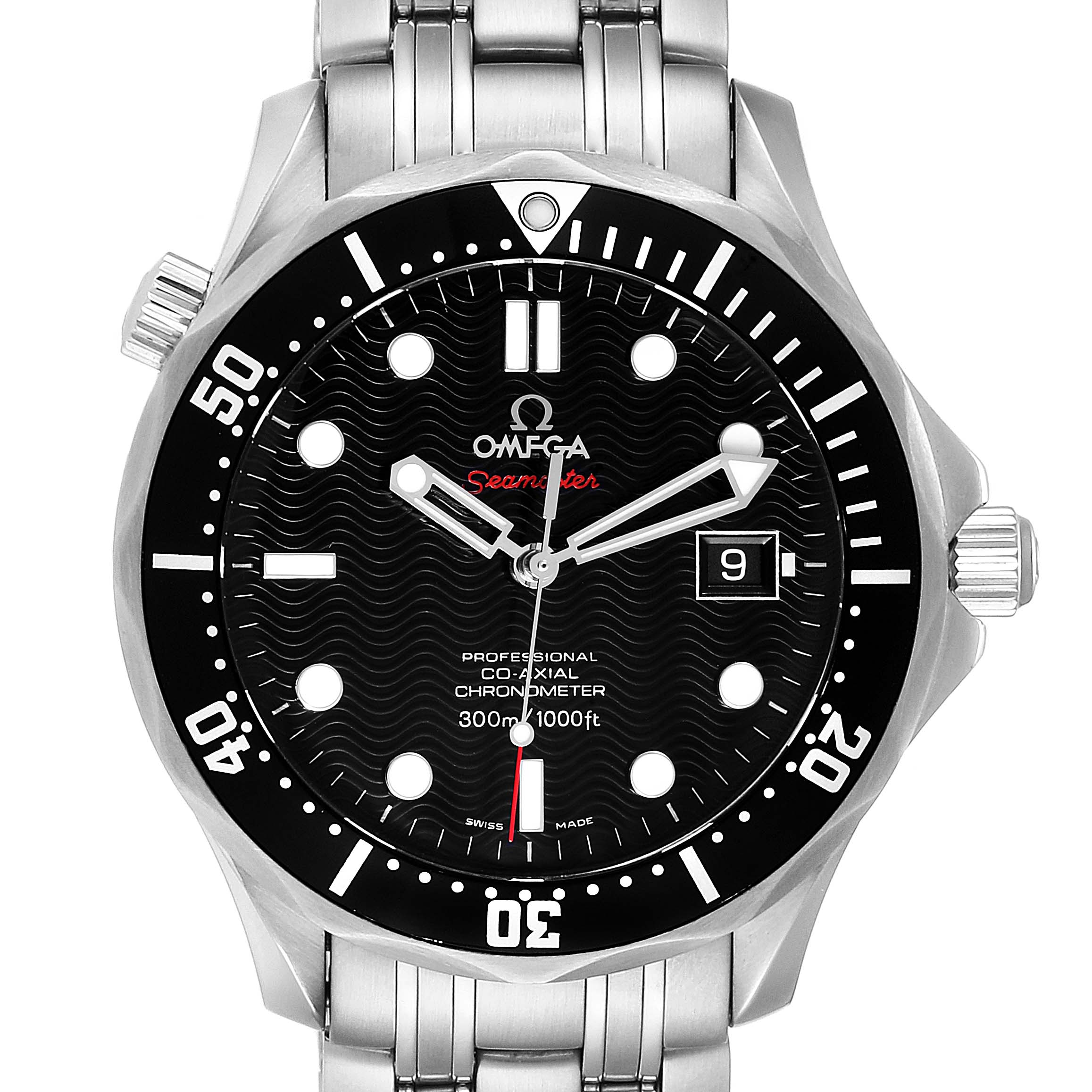 Omega Seamaster Bond 007 Limited Edition Watch 212.30.41.20.01.001 Card
