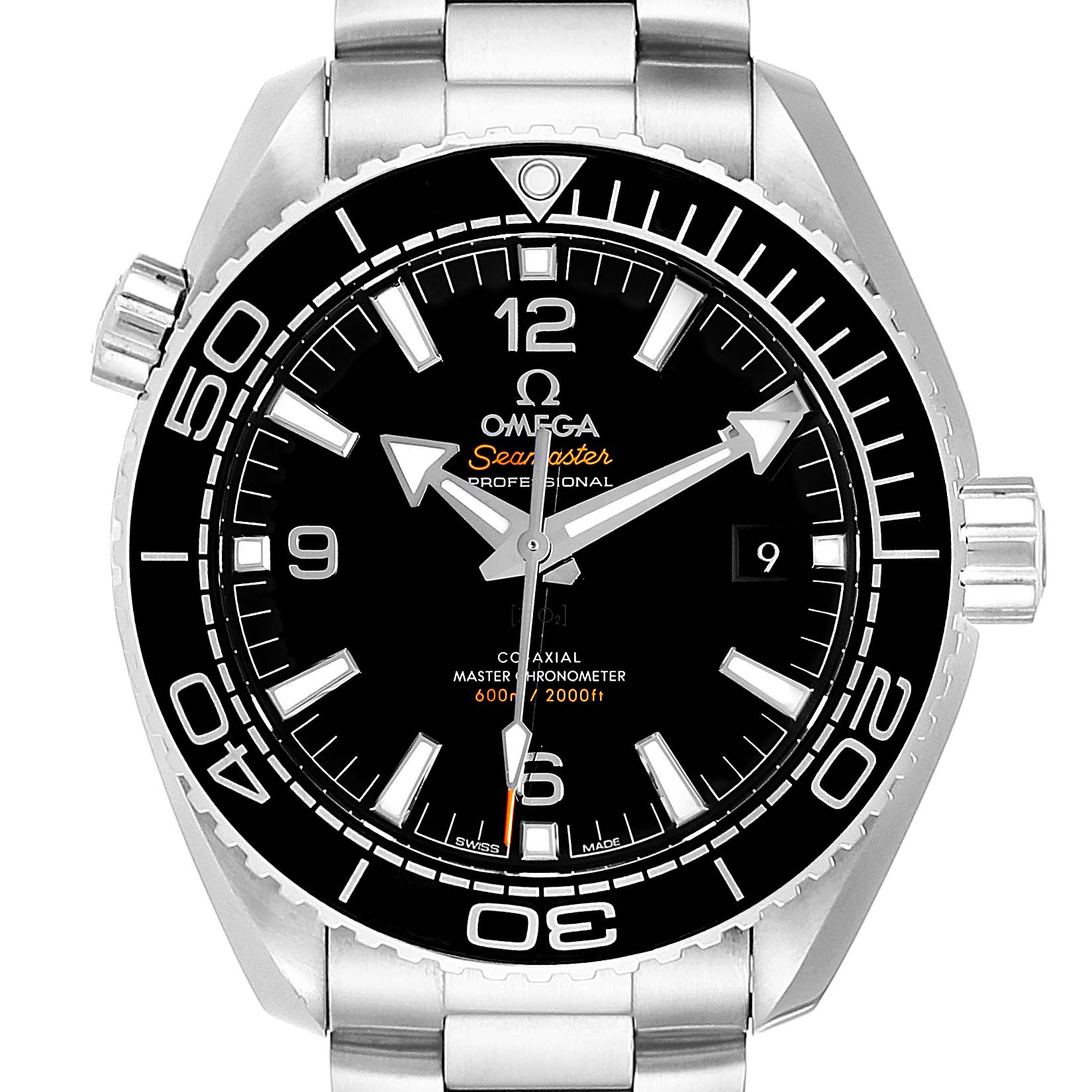 Omega Seamaster Planet Ocean Mens Watch 215.30.44.21.01.001 Card