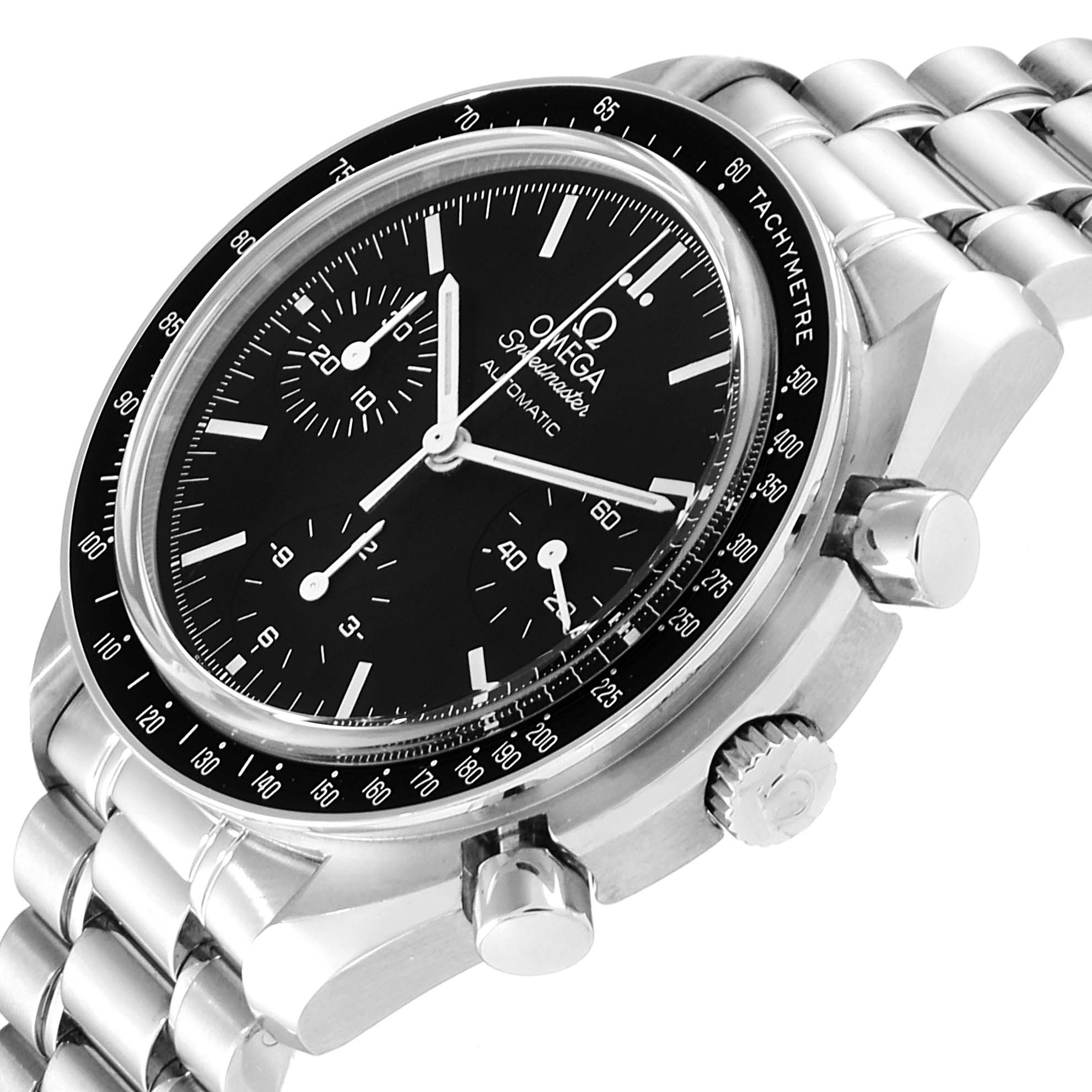 Omega Speedmaster Chrono Reduced Automatic Steel Watch 3539.50.00 SwissWatchExpo