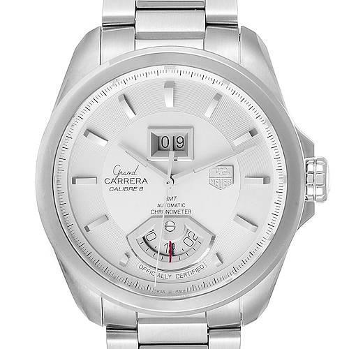 Photo of Tag Heuer Grand Carrera GMT Chronograph Mens Watch WAV5112 Box Card