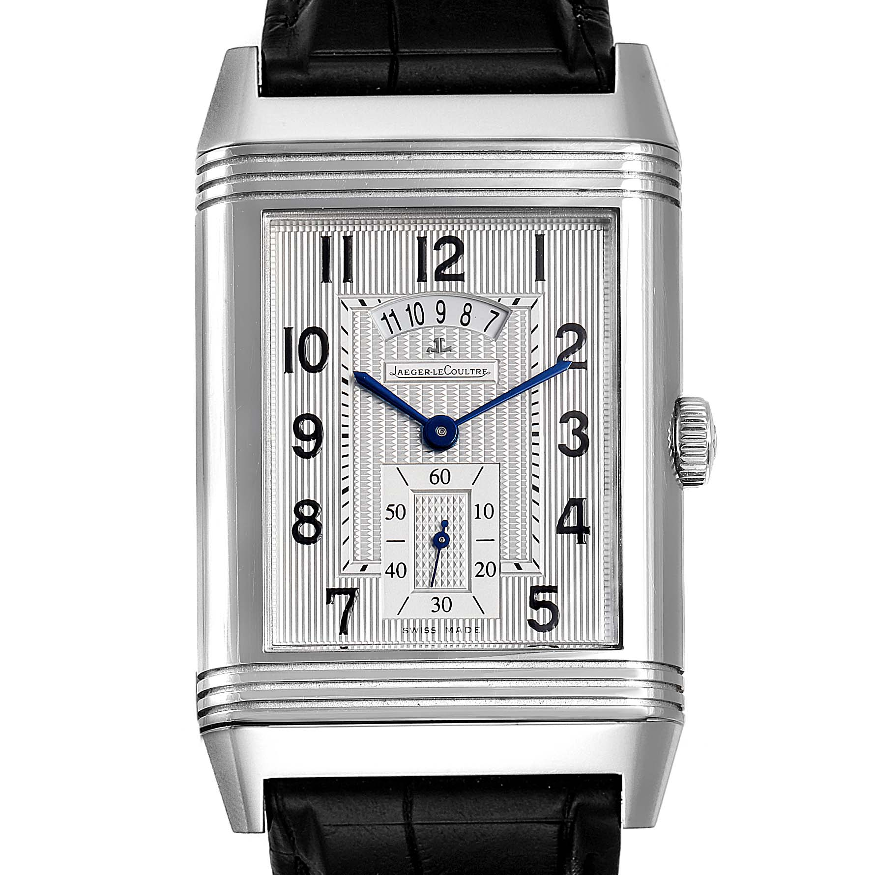 Jaeger LeCoultre Grande Reverso Duodate Limited Edition Watch 274.8.85 SwissWatchExpo